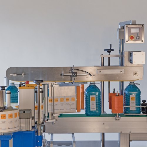 Automatic Labelling Machine Front/Back System 5