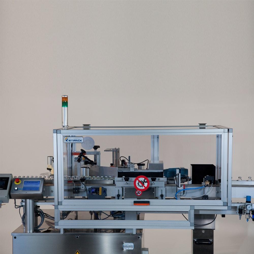 Sistema di etichettatura avvolgente per il settore for Sistema di filtraggio per laghetto