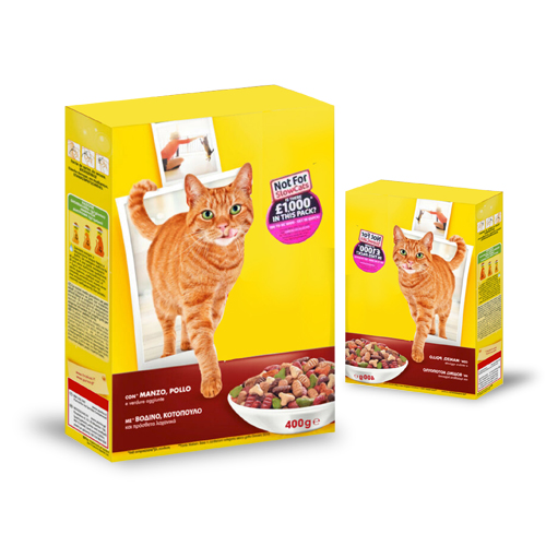 Labelling of Pet Food Carton Boxes