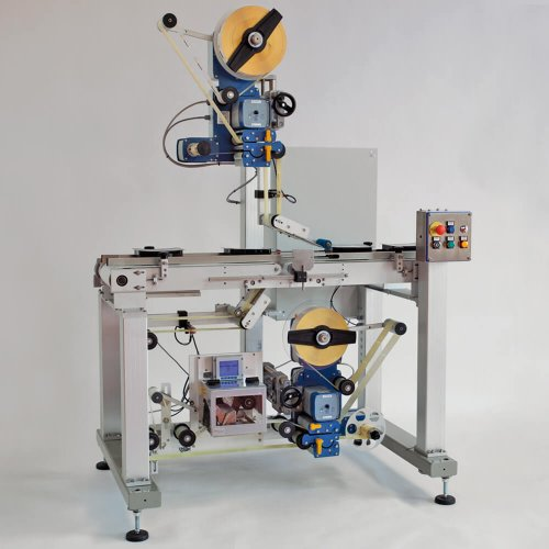 Top and Bottom Labelling Machine System 4