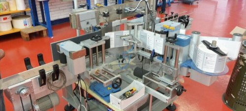 Labeling machine System 5 Active: flawless labeling