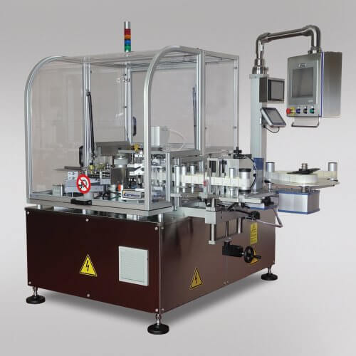 Pharmaceutical Ampoules Labelling Machine Etifiale Pro